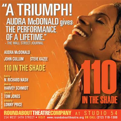 110 In The Shade Soundtrack CD. 110 In The Shade Soundtrack