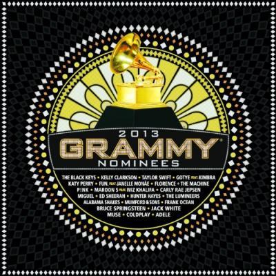 2013 GRAMMY Nominees Soundtrack CD. 2013 GRAMMY Nominees Soundtrack