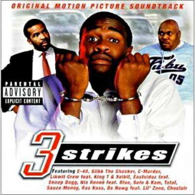 3 Strikes Soundtrack CD. 3 Strikes Soundtrack
