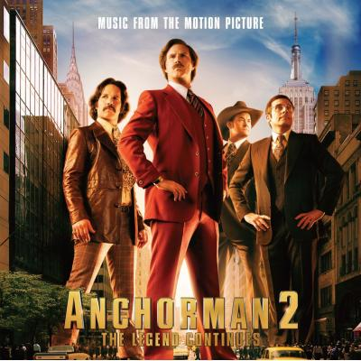 Anchorman 2: The Legend Continues Soundtrack CD. Anchorman 2: The Legend Continues Soundtrack