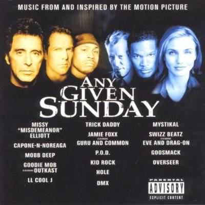 Any Given Sunday Soundtrack CD. Any Given Sunday Soundtrack