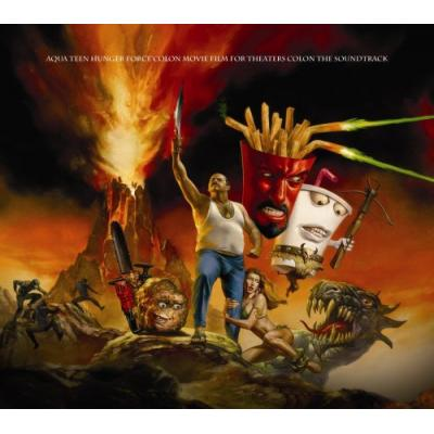 Aqua Teen Hunger Force Colon Movie Film for Theaters Soundtrack CD. Aqua Teen Hunger Force Colon Movie Film for Theaters Soundtrack