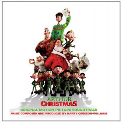 Arthur Christmas Soundtrack CD. Arthur Christmas Soundtrack