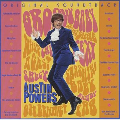 Austin Powers: International Man of Mystery Soundtrack CD. Austin Powers: International Man of Mystery Soundtrack
