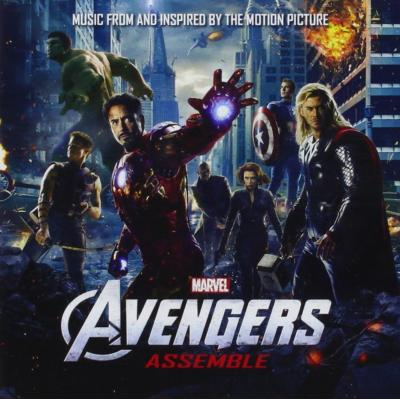 Avengers Assemble Soundtrack CD. Avengers Assemble Soundtrack