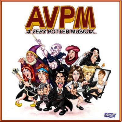 A Very Potter Soundtrack CD. A Very Potter Soundtrack