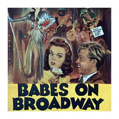 Babes on Broadway Soundtrack CD. Babes on Broadway Soundtrack
