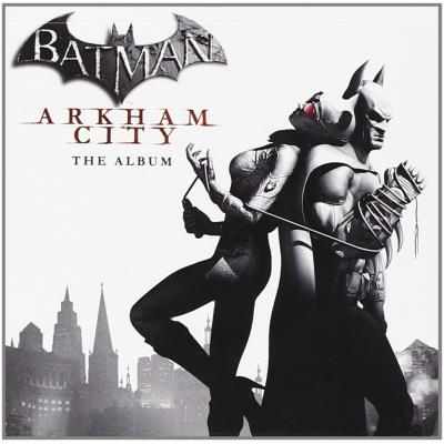 Batman: Arkham City Soundtrack CD. Batman: Arkham City Soundtrack