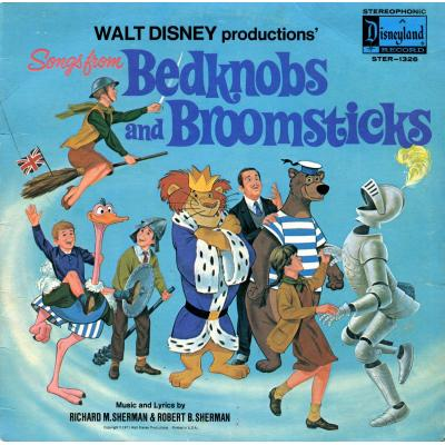 Bedknobs and Broomsticks Soundtrack CD. Bedknobs and Broomsticks Soundtrack