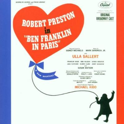 Ben Franklin in Paris Soundtrack CD. Ben Franklin in Paris Soundtrack