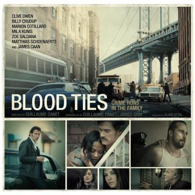 Blood Ties Soundtrack CD. Blood Ties Soundtrack