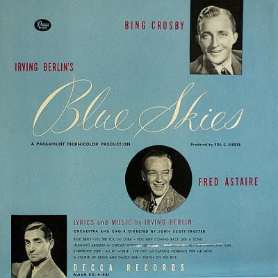 Blue Skies Soundtrack CD. Blue Skies Soundtrack