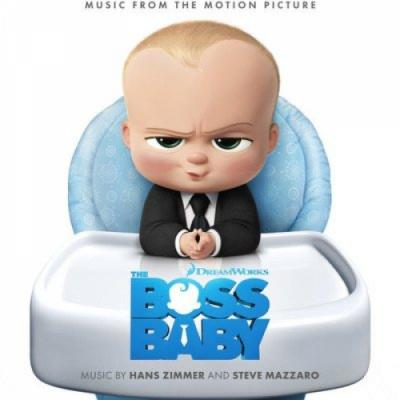 Boss Baby Soundtrack CD. Boss Baby Soundtrack