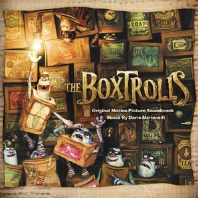 Boxtrolls, The Soundtrack CD. Boxtrolls, The Soundtrack