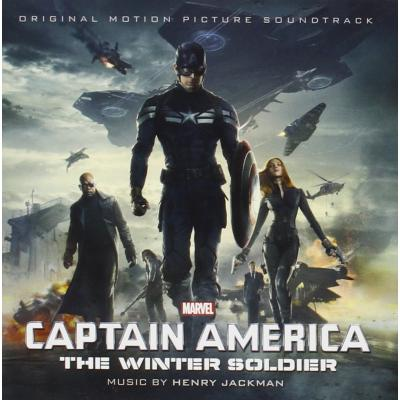 Captain America: The Winter Soldier Soundtrack CD. Captain America: The Winter Soldier Soundtrack