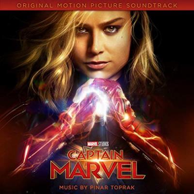 Captain Marvel Soundtrack CD. Captain Marvel Soundtrack