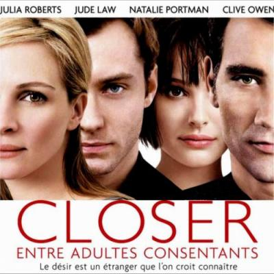 Closer Soundtrack CD. Closer Soundtrack