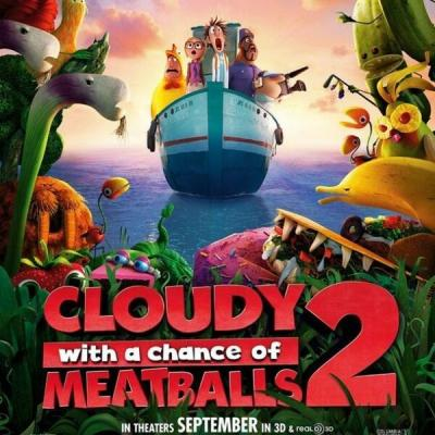 Cloudy with a Chance of Meatballs 2 Soundtrack CD. Cloudy with a Chance of Meatballs 2 Soundtrack