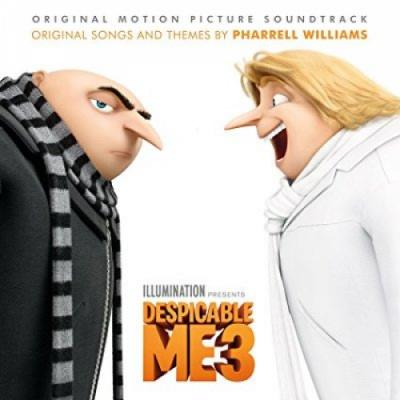 Despicable Me 3 Soundtrack CD. Despicable Me 3 Soundtrack