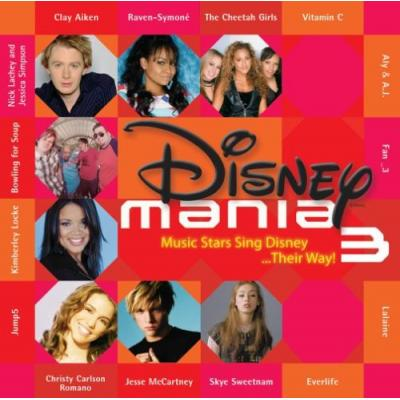 Disneymania 3 Soundtrack CD. Disneymania 3 Soundtrack