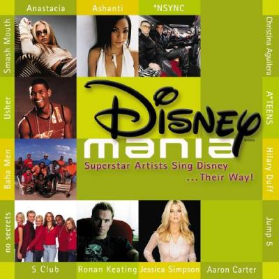 Disneymania Soundtrack CD. Disneymania Soundtrack