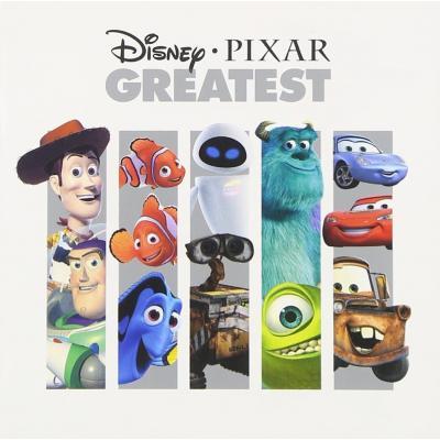 Disney Pixar Greatest Soundtrack CD. Disney Pixar Greatest Soundtrack