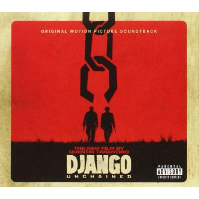 Django Unchained Soundtrack CD. Django Unchained Soundtrack