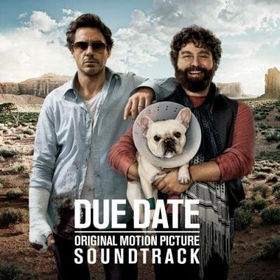 Due Date Soundtrack CD. Due Date Soundtrack