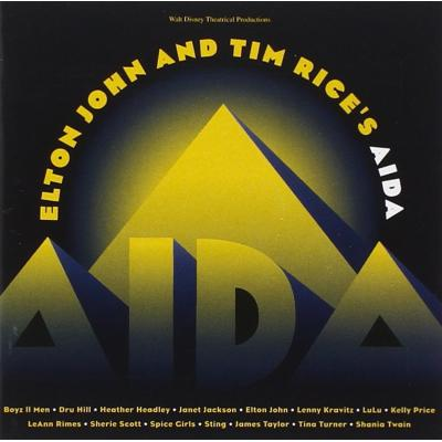 Elton John and Tim Rice's Aida Soundtrack CD. Elton John and Tim Rice's Aida Soundtrack