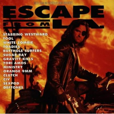 Escape From L.A. Soundtrack CD. Escape From L.A. Soundtrack