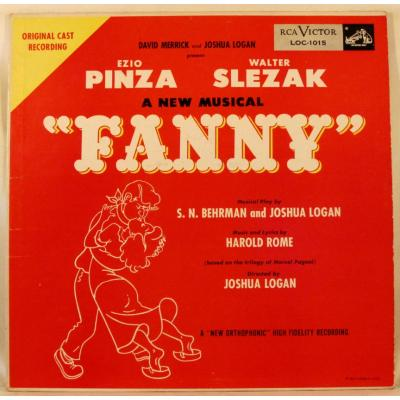 Fanny Soundtrack CD. Fanny Soundtrack
