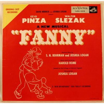 Fanny Soundtrack CD. Fanny Soundtrack