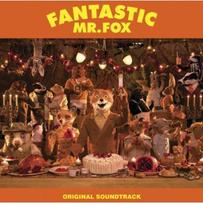Fantastic Mr. Fox Soundtrack CD. Fantastic Mr. Fox Soundtrack