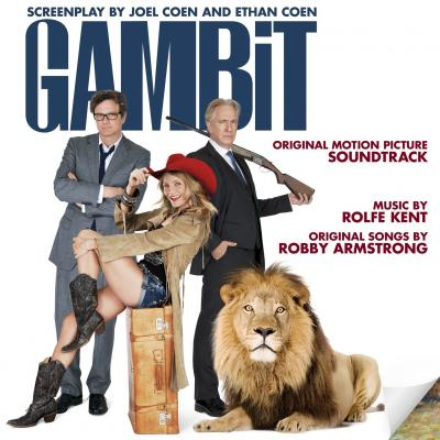 Gambit  Soundtrack CD. Gambit  Soundtrack