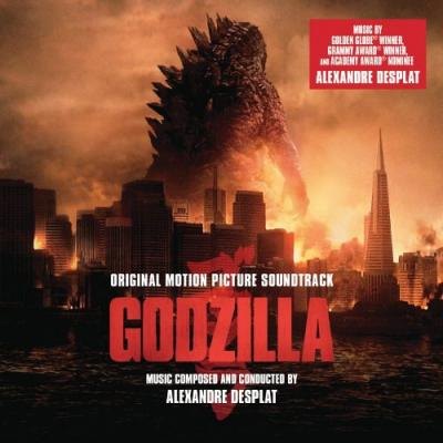 Godzilla 2014 Soundtrack CD. Godzilla 2014 Soundtrack