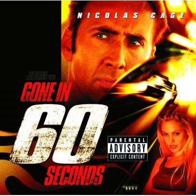 Gone in 60 Seconds Soundtrack CD. Gone in 60 Seconds Soundtrack
