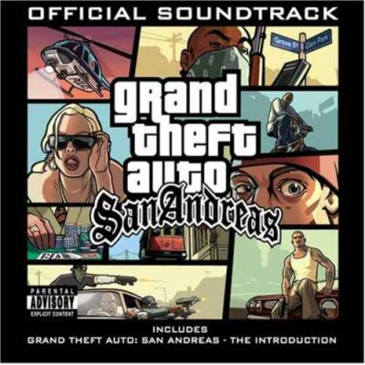 Grand Theft Auto: San Andreas Soundtrack CD. Grand Theft Auto: San Andreas Soundtrack