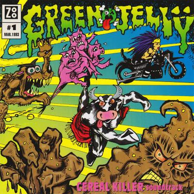 Green Jelly: Cereal Killer Soundtrack CD. Green Jelly: Cereal Killer Soundtrack