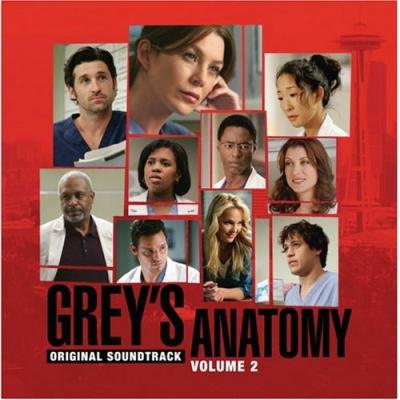 Grey's Anatomy 2 Soundtrack CD. Grey's Anatomy 2 Soundtrack