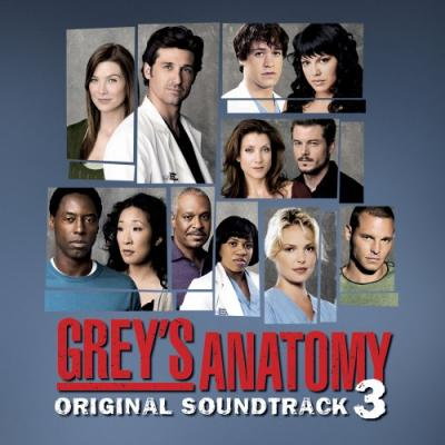 Grey's Anatomy 3 Soundtrack CD. Grey's Anatomy 3 Soundtrack