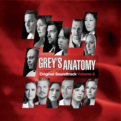 Grey's Anatomy 4 Soundtrack CD. Grey's Anatomy 4 Soundtrack
