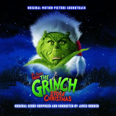 Grinch Soundtrack CD. Grinch Soundtrack