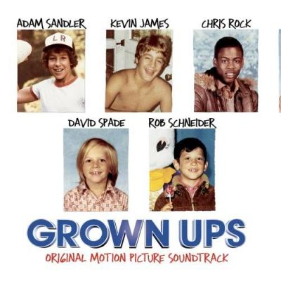 Grown Ups Soundtrack CD. Grown Ups Soundtrack