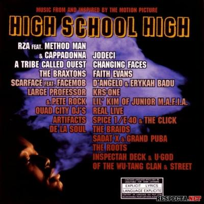 High School High Soundtrack CD. High School High Soundtrack