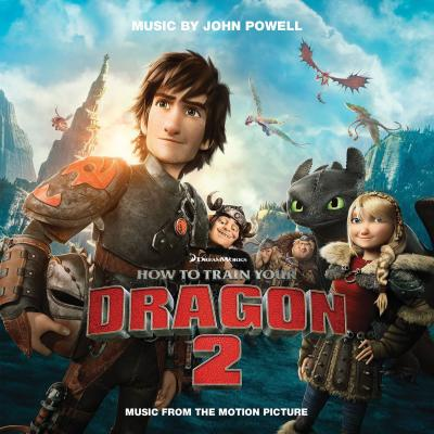 How to Train Your Dragon 2 Soundtrack CD. How to Train Your Dragon 2 Soundtrack