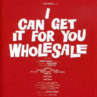 I Can Get It For You Wholesale Soundtrack CD. I Can Get It For You Wholesale Soundtrack