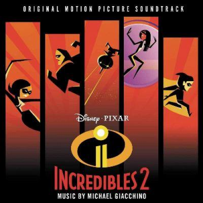 Incredibles 2 Soundtrack CD. Incredibles 2 Soundtrack