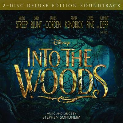 Into the Woods (movie) Soundtrack CD. Into the Woods (movie) Soundtrack