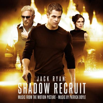 Jack Ryan: Shadow Recruit Soundtrack CD. Jack Ryan: Shadow Recruit Soundtrack