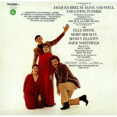 Jacques Brel is Alive and Well and Living in Paris Soundtrack CD. Jacques Brel is Alive and Well and Living in Paris Soundtrack Soundtrack lyrics